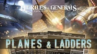 Heroes & Generals - Update 1.08: Planes & Ladders