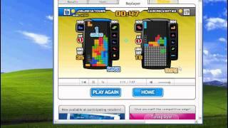 Tetris Battle T-spin practice by jhejhe 68 score