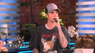 getlinkyoutube.com-Justin Bieber About Relationship With Selena Gomez + Sorry Acoustic Performance With The Ellen Show