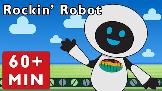 getlinkyoutube.com-Rockin' Robot and More | Nursery Rhymes from Mother Goose Club!