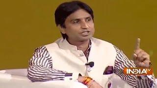 getlinkyoutube.com-IndiaTV Samvaad: Kumar Vishwas, Raj Babbar, Manoj Tiwari, Zafar Sareshwala at IndiaTV Conclave