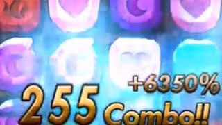 getlinkyoutube.com-神魔255Combo,感受Combo的爽感!!!(無年獸)