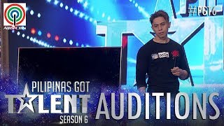 Pilipinas Got Talent 2018 Auditions: Karl Matrix - Illusion TV Magic