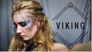 getlinkyoutube.com-V I K I N G  G L A M O U R (makeup & hair)