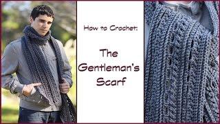 getlinkyoutube.com-How to Crochet the Gentleman's Scarf