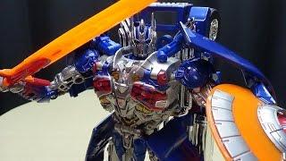 getlinkyoutube.com-Takara Age of Extinction Leader ARMOR KNIGHT OPTIMUS PRIME: EmGo's Transformers Reviews N' Stuff