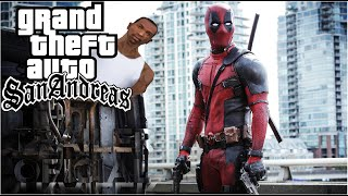 getlinkyoutube.com-Deadpool | Red Band Trailer  [HD] | GTA San Andreas