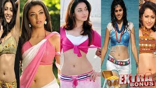 (All Time) Best Top 10 Hot South Indian Actress Navel Photos Ever Clicked Part 1