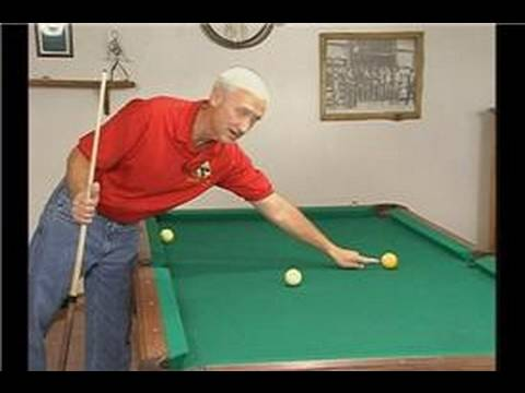 Billiards: Basic Shot Making : Aiming a Pool Shot
