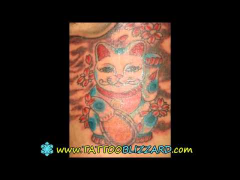 Tattoos Designs Cat