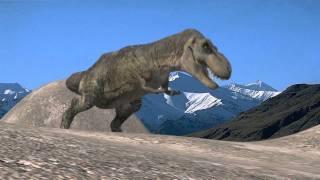 getlinkyoutube.com-Dinosaurs - T-Rex 3D Animation