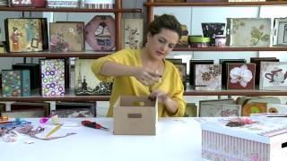 getlinkyoutube.com-Mulher.com - 26/12/2014 - Caixa co scrap decor por Marisa Magalhaes - Parte 2
