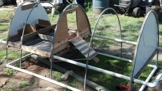 getlinkyoutube.com-Making a Chicken Tractor
