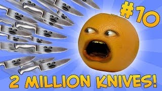 getlinkyoutube.com-Annoying Orange - ASK ORANGE #10: TWO MILLION KNIVES