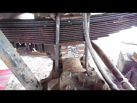 Проставки 50 мм рессора - мост, на УАЗ буханку.