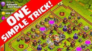 getlinkyoutube.com-Clash of Clans ♦ ONE SIMPLE TRICK ♦ Win More Defenses! ♦ Galatrap 3.0! ♦