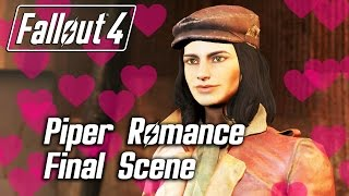 getlinkyoutube.com-Fallout 4 - Piper Romance - Final Scene
