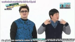 getlinkyoutube.com-[Sub Español] 150218 Weekly Idol Jung Yong Hwa [CNBLUE] (Parte 1)