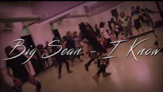 getlinkyoutube.com-Big Sean f. Jhene Aiko - I Know - Michele Soulchild Class Choreography