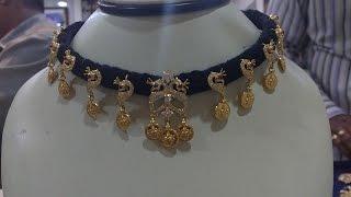 getlinkyoutube.com-latest thread with gold jewellery
