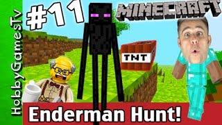 getlinkyoutube.com-TNT ENDERMAN Hunt Fail Floyd Explosion Minecraft Xbox One Creepers Armor Skeleton HobbyGamesTV