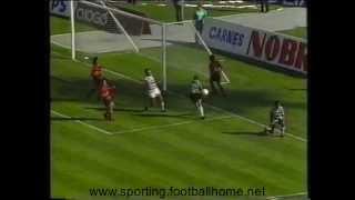 29J :: Sporting - 4 x Penafiel - 1 de 1988/1989