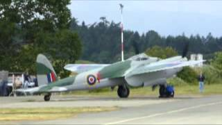 getlinkyoutube.com-de Havilland Mosquito Restoration - First flight 16 June 2014
