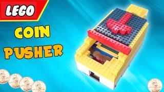 getlinkyoutube.com-LEGO Coin Pusher Machine V2 'FUN'