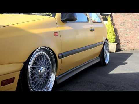 VW MK3 Golf | VR6 Supercharged | Imola Yellow