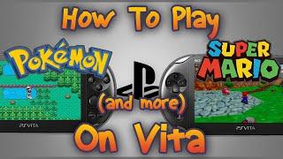 getlinkyoutube.com-How to Play Pokemon on Vita with Version 3.18 | Emulators on PS Vita