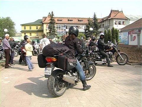 Коломию відвідала група польських байкерів