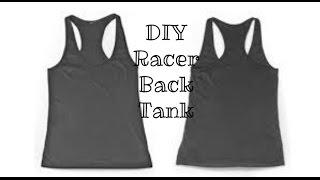 DIY Super Easy Racerback Tanktop