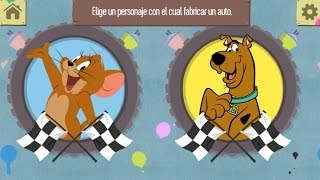 getlinkyoutube.com-Scooby Doo,Tom y Jerry Carrera de Coches Juegos para Niños.Games for kids