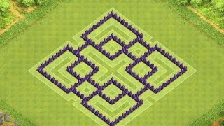 getlinkyoutube.com-Clash of Clans - TH7 Farming Base with Air Sweeper 2