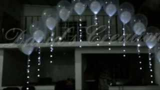getlinkyoutube.com-Decoracion para Boda-Bautizo. - Decoraciones con globos