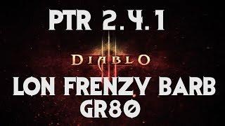 getlinkyoutube.com-Diablo 3 PTR 2.4.1 LoN Thorns Frenzy Barb GR 80