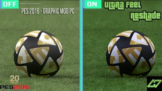 getlinkyoutube.com-PES 2016 GRAPHICS MOD -Reshade PC - GRAPHIC COMPARISON - ULTRA LOOKS - DOWNLOAD