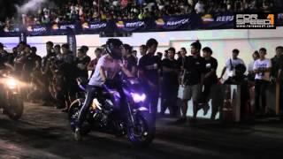 getlinkyoutube.com-Drag Racing Under 850cc & Super Sport 600cc  ในงาน บิด หมด ปลอก ครั้งที่2 ปี2558