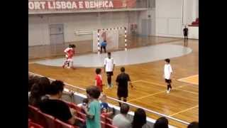 FÁBIO FONSECA FUTSAL 0119 BENFICA Jog nr 8 Benfica 9 Shotokai 4 Jogo Apresent Equipa Juvenis 2014 20