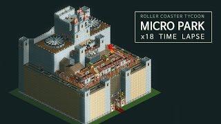 getlinkyoutube.com-RollerCoasterTycoon - Micro Park x18 Timelapse