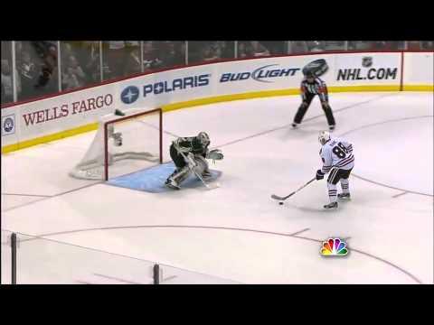 Patrick Kane dazzling shootout goal 12/14/11