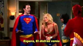 """JUSTICE LEAGUE"" The Big Bang Theory"