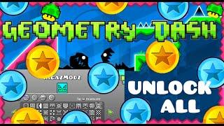 getlinkyoutube.com-Geometry Dash Unlock All | PC Version
