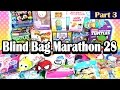 Surprise Blind Bag Marathon 28 - Part3 - Beauty and the Beast, Trolls, Chubby Puppies and MORE!
