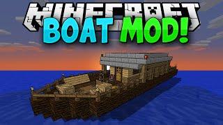 getlinkyoutube.com-Minecraft Mods || MORE BOATS!!! || Pirate Ships!!! || Mod Showcase [1.7.10]