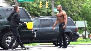 getlinkyoutube.com-Stealing Peoples Gas Prank!!