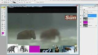 getlinkyoutube.com-RE Woolly Mammoth found Alive Crossing a river in Siberia.wmv