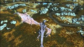 getlinkyoutube.com-Skyrim Mod Tours - Flyable Dragon Races 3: Burning Skies