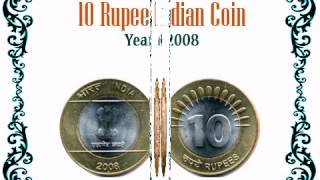 getlinkyoutube.com-Collection of 10 rupee India Coin