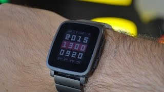 getlinkyoutube.com-Pebble Time Steel: la recensione di HDblog.it